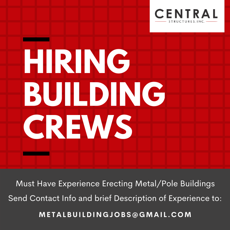 hiring building crews